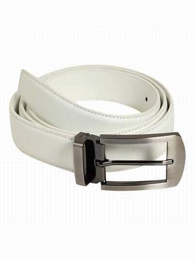9b87735783a ceinture blanche homme grande taille